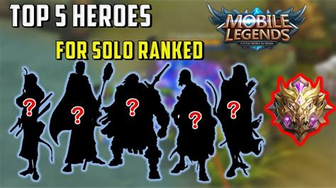 Top 5 Best Heroes Solo Ranked At All Ranks