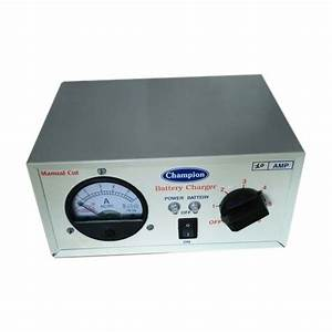 10 Amp Manual Cut Champion Battery Charger  Output Voltage