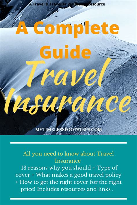 A complete guide to Travel Insurance. Everything you need ...