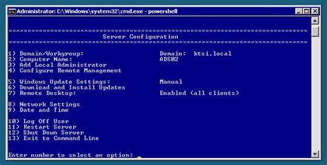 commands  windows server core hyper  server thomas
