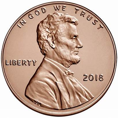 Penny Pennies Clip Cent Lincoln Clipart Coin