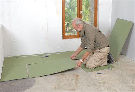pose carrelage sur polystyrene extrude poser du parquet flottant bricolage avec robert