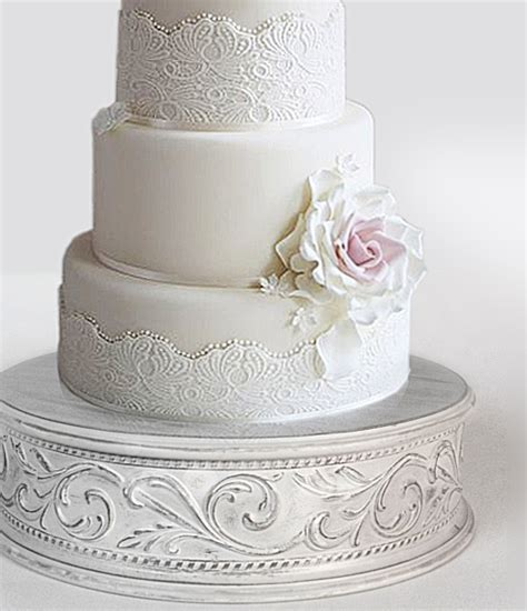 shabby chic wedding cake stand wedding cake stands crafted in the u s a