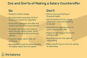 How To Negotiate Salary After Job Offer How To Negotiate A Salary Counter Offer For A Job