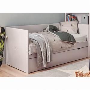Lit Enfant Double : lit double avec tiroir maison design ~ Teatrodelosmanantiales.com Idées de Décoration