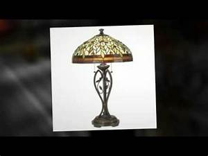 tiffany style table lamps youtube With fillsta table lamp youtube