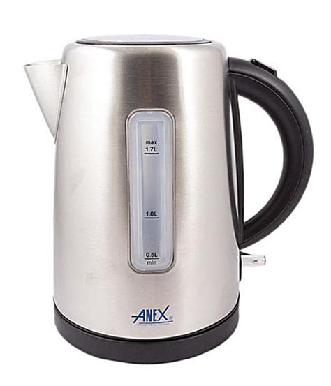 kettle anex steel ag pakistan electric deluxe silver pk features appliances