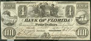 I Came Across A Four Dollar Bill Issued From The Bank Of