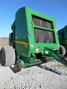 2012 John Deere 568 Hay Equipment - Round Balers