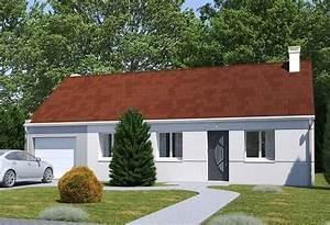 Maison Plain Pied En L : plan maison individuelle 2 chambres 103 gi habitat concept ~ Melissatoandfro.com Idées de Décoration
