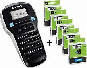 Sampak dymo labelmanager 160 5 stk dymo d1 tape kob for Dymo labelmanager 160 tape