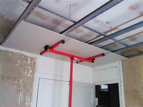 plaque de platre faux plafond menuiserie image et conseil