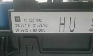 Opel Astra 99 Fuse Box