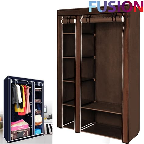 Cloth Storage Wardrobe by Fabric Canvas Clothes Storage Organiser Wardrobe