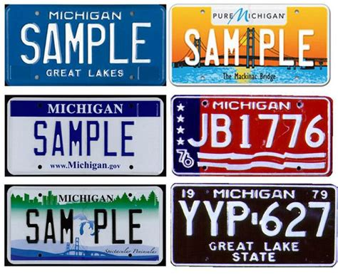 mi vanity plate michigan motorists must replace license plates every 10