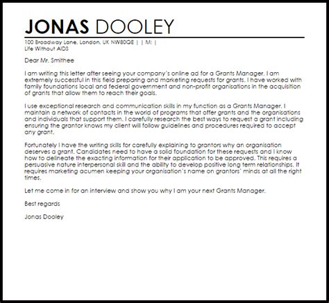 How To Write A Marketing Cover Letter by Marketing Manager Cover Letter Template Business