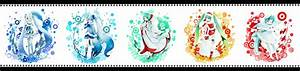Aqua, Eyes, Aqua, Hair, Bati15, Blue, Eyes, Blue, Hair, Hatsune, Miku, Japanese, Clothes, Jpeg, Artifacts