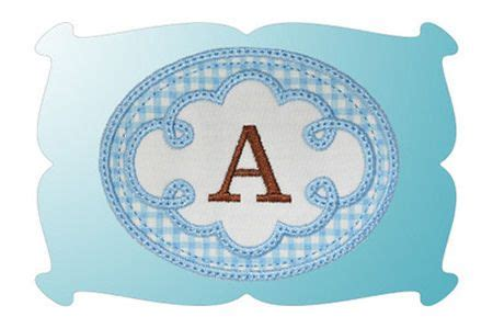 sewing themed pattern weights  cute swirl frame