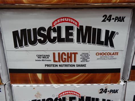 muscle milk light chocolate costco muscle milk