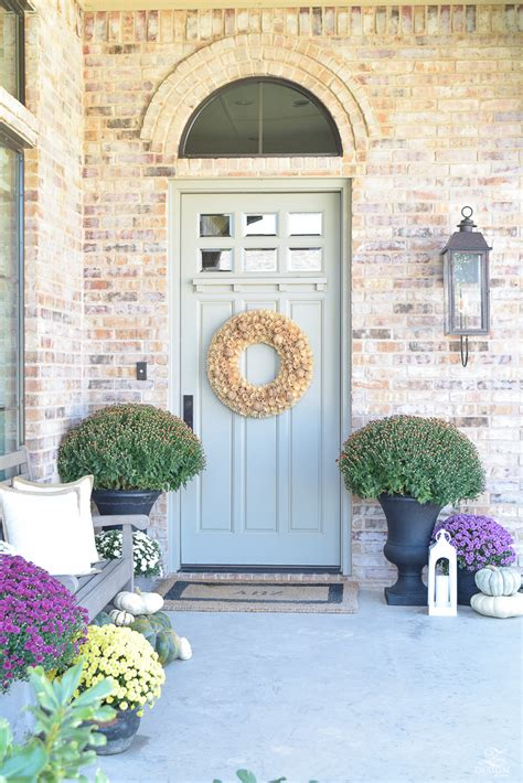porch paint colors sherwin williams 5 tips for a beautiful fall front porch a tour zdesign
