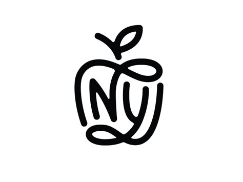 ny monogram by nick slater dribbble