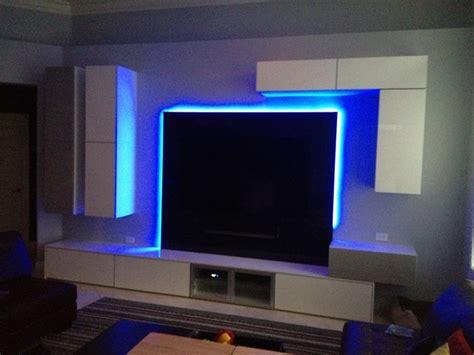 sleek ultra modern entertainment center