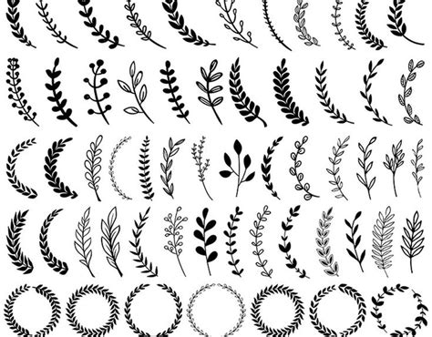 check   atbehance project  vector laurels wreaths elements httpswwwbehance