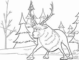 HD wallpapers sven reindeer coloring page 77patternpattern.gq