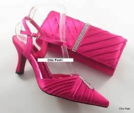 fuschia wedding shoes womens pink fuschia wedding prom evening shoes matching bag 4 5 6 7 8 9 ebay
