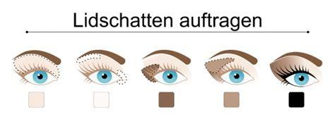 Fliesen Farbe Richtig Auftragen by Augen Schminken Tipps F 252 R Einen Strahlenden Blick