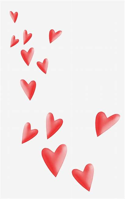 Hearts Floating Clipart
