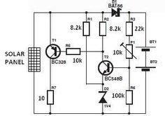 Solar Powered Led Light Circuit Pinterest