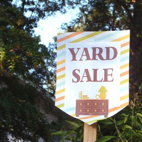 Backyard Sales by How To A Successful Yard Sale Pro Tips Belly