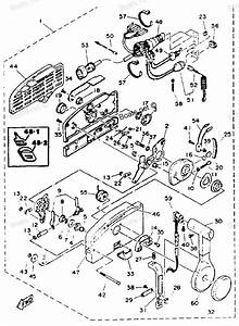 Yamaha Outboard Remote Control Comp Parts 703 Diagram And Parts Car
