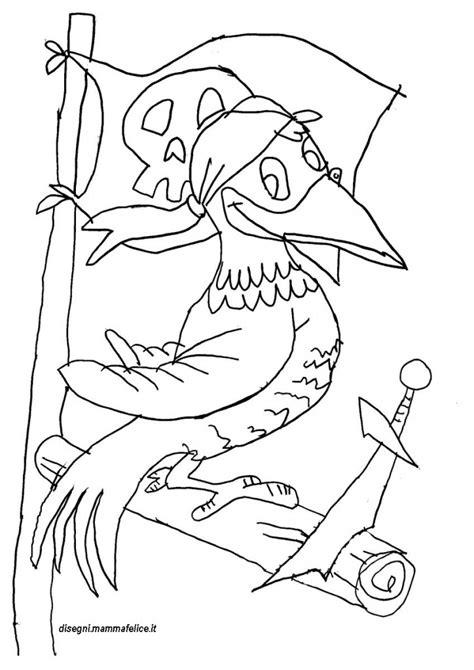 immagini pirati per bambini da stare disegno da colorare pirata pappagallo disegni mammafelice