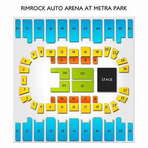 metra park seating chart rimrock auto arena at metra park seating chart vivid seats