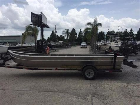 Used Crawfish Boats For Sale In Louisiana by 2011 Custom Crawfish Skiff Marrero Louisiana Boats