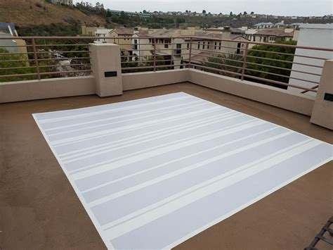 how to paint a permanent outdoor rug for 150 on
