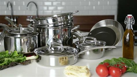 table sur cookware steel stainless tri ply