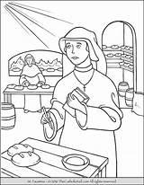 Coloring Catholic Saints Saint Faustina Kid Communion Mercy Printable Divine Teresa Calcutta Liturgical Sheets December Pintar Sunday Books Davemelillo Paul sketch template