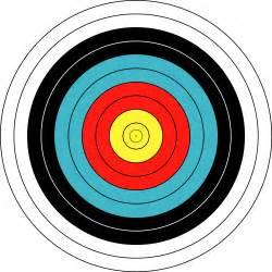 bullseye targets printable clipart best