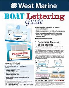 Custom boat graphics west marine for West marine boat lettering