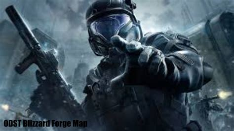 Halo 5 Guardians Wallpaper Halo 5 Odst Blizzard Forge Map Youtube