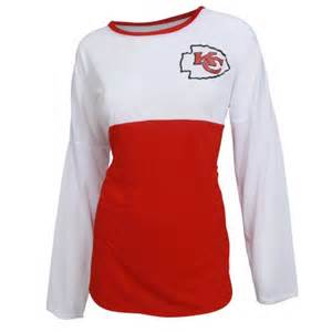 kansas city chiefs concepts sport women 39 s red vortex ls