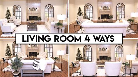 living room layout ideas easy transformation youtube