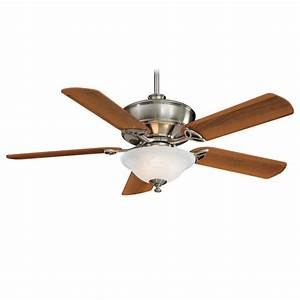 Minka aire f bn bolo brushed nickel quot ceiling fan w