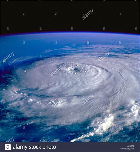 Images Of Earth From Space Satellite Image Of Hurricane Earth From Space Stock Photo