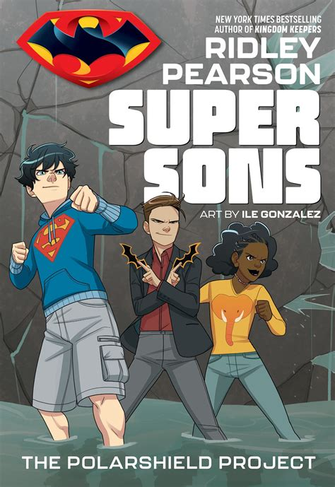 super sons dc comics project polarshield books solicitations february universe take pages story tp they fc ice zoom