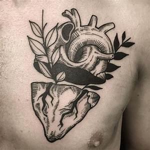 45 Beautiful Anatomical Heart Tattoo Designs-The Art of ...