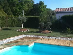 Margelle Pour Piscine : margelle bois piscine terrasse bois piscine margelle diverses id es de conception de patio en ~ Melissatoandfro.com Idées de Décoration